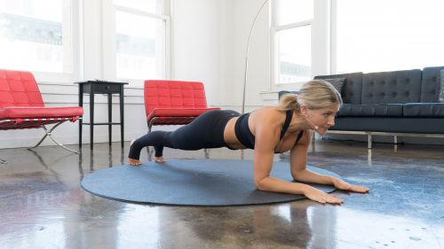 BodyselfieTV plank exercises| Sarah Kusch's Rock the Plank Workout Routine